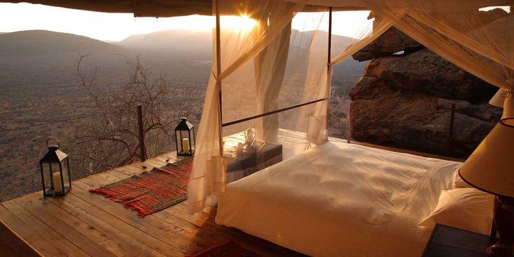#Sundowners & #GameDrives at #SaruniSamburu. Read Sophie Friedman's…