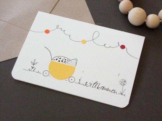 Unsere handgefertigten Karten entstehen nach unseren eigenen Ideen und Vorstellungen, das Soriment umfasst allgemeine Gruß-und Glückwunschkarten, so…