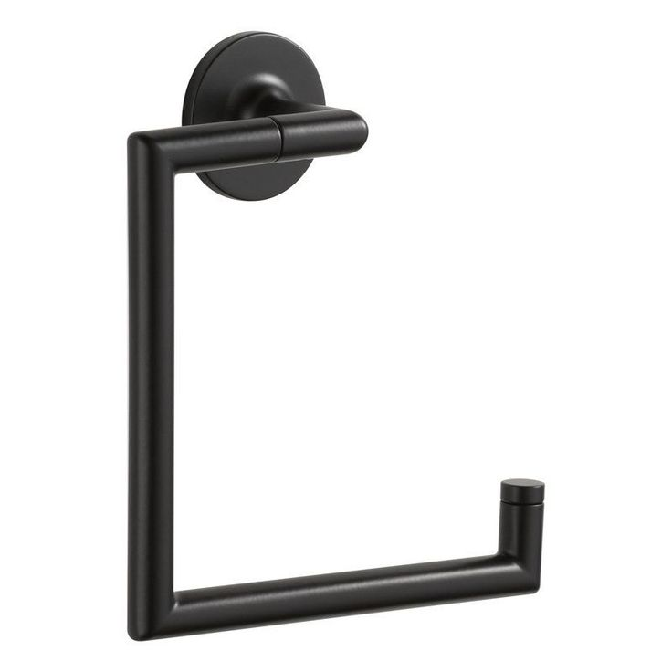 Buy the Brizo 694675BL Matte Black Direct. Shop for the Brizo 694675BL Matte Black Towel Ring from the Odin Collection and save.