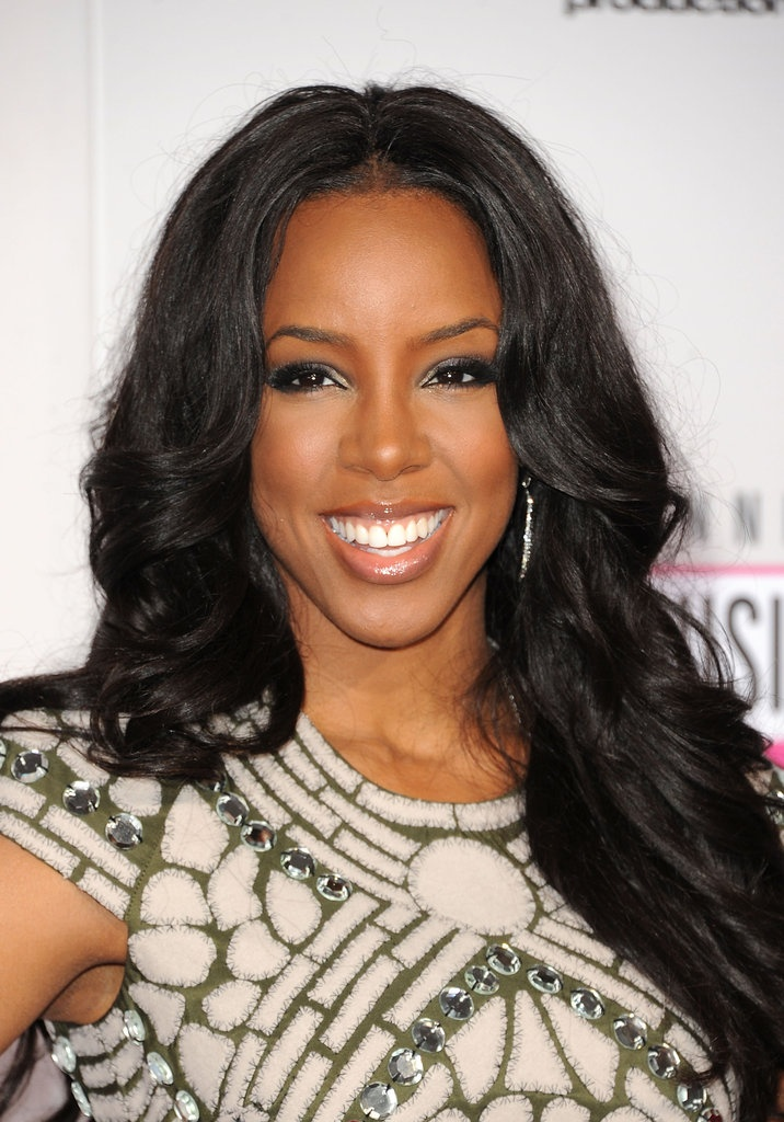 Kelly Rowland #makeup #style at the 2012 American Music Awards