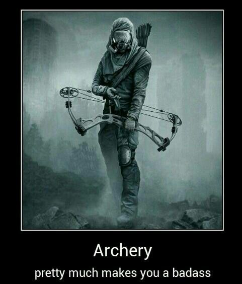 Learn archery, or as I call it; the art of killing zombies silently from a distance.