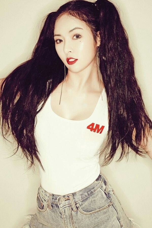 HyunA // 4Minute // HATE