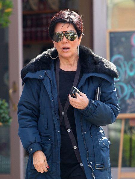 Kris Jenner Aviator Sunglasses