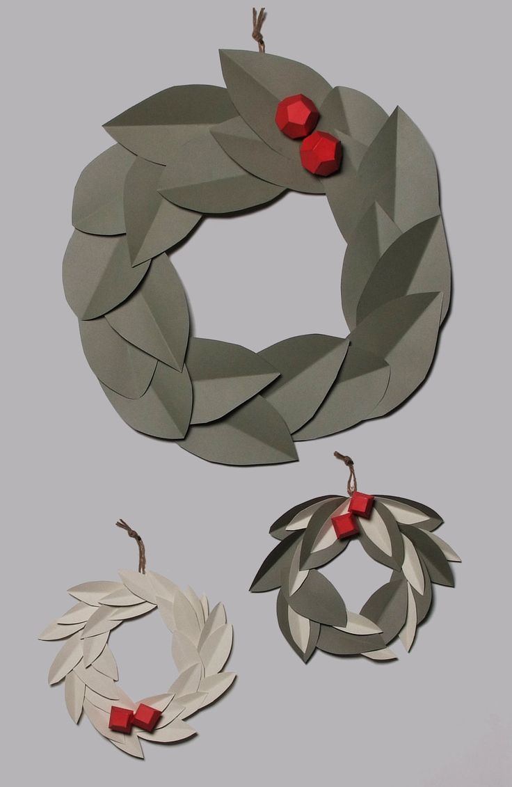 Christmas origami wreath - 300 Best Origami Folding Paper Images On Pinterest Paper Origami And Origami Paper