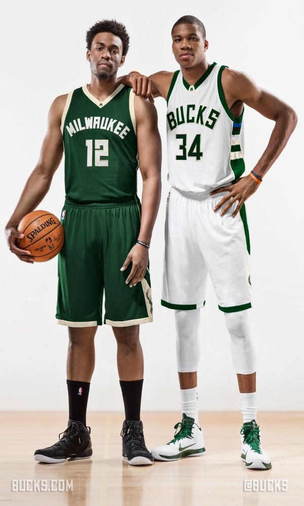 New unis for the Bucks #uniswag