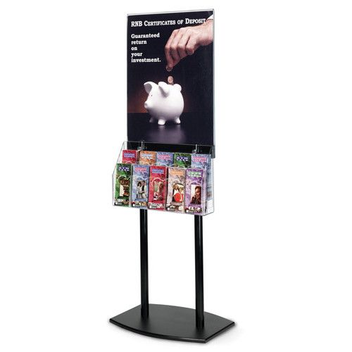 brochure holder stand