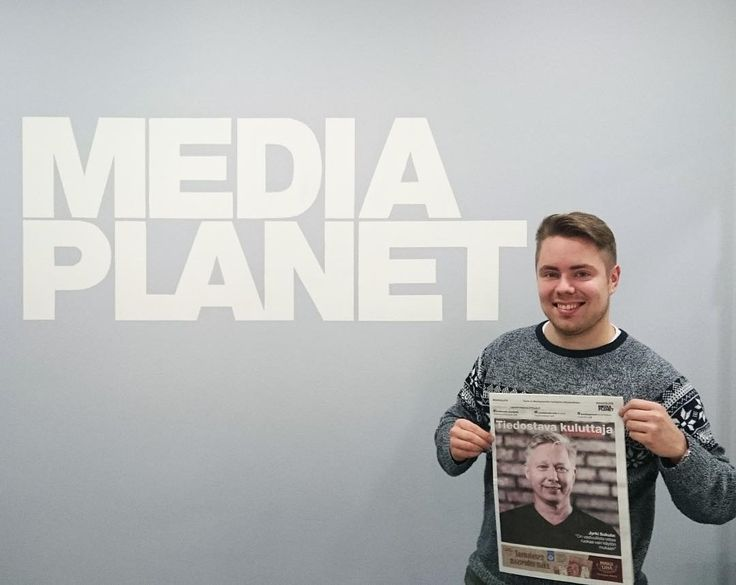 """""""Tänään julkaistiin kahdeksas Mediaplanetin tuottama #tiedostavakuluttaja julkaisu. Lehden löydät Hesarin välistä, ja osoitteesta tiedostavakuluttaja.fi"""""""