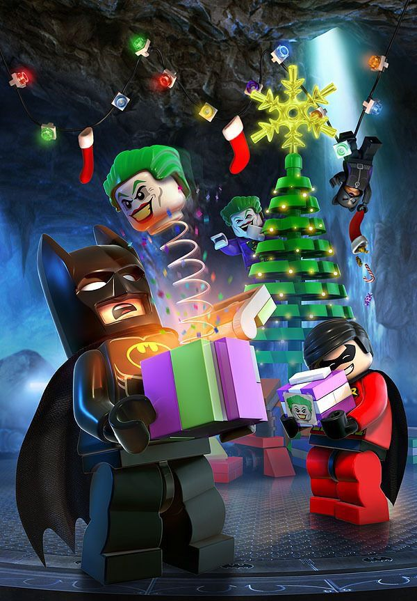 Merry Christmas By Lego Batman