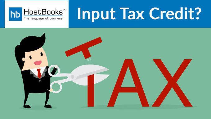 What Is Input Tax Credit Itc Tax Credits Photoshop