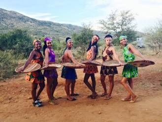 VIP African Hand Maidens