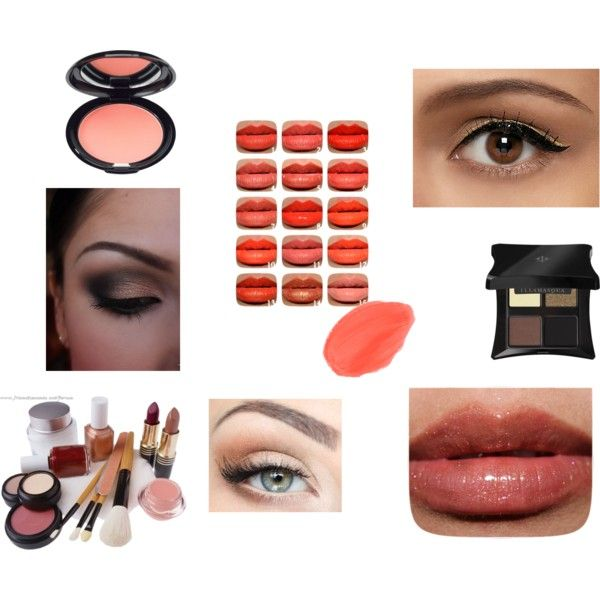 """Deep Autumn Natural Makeup"" by alejaradi on Polyvore"
