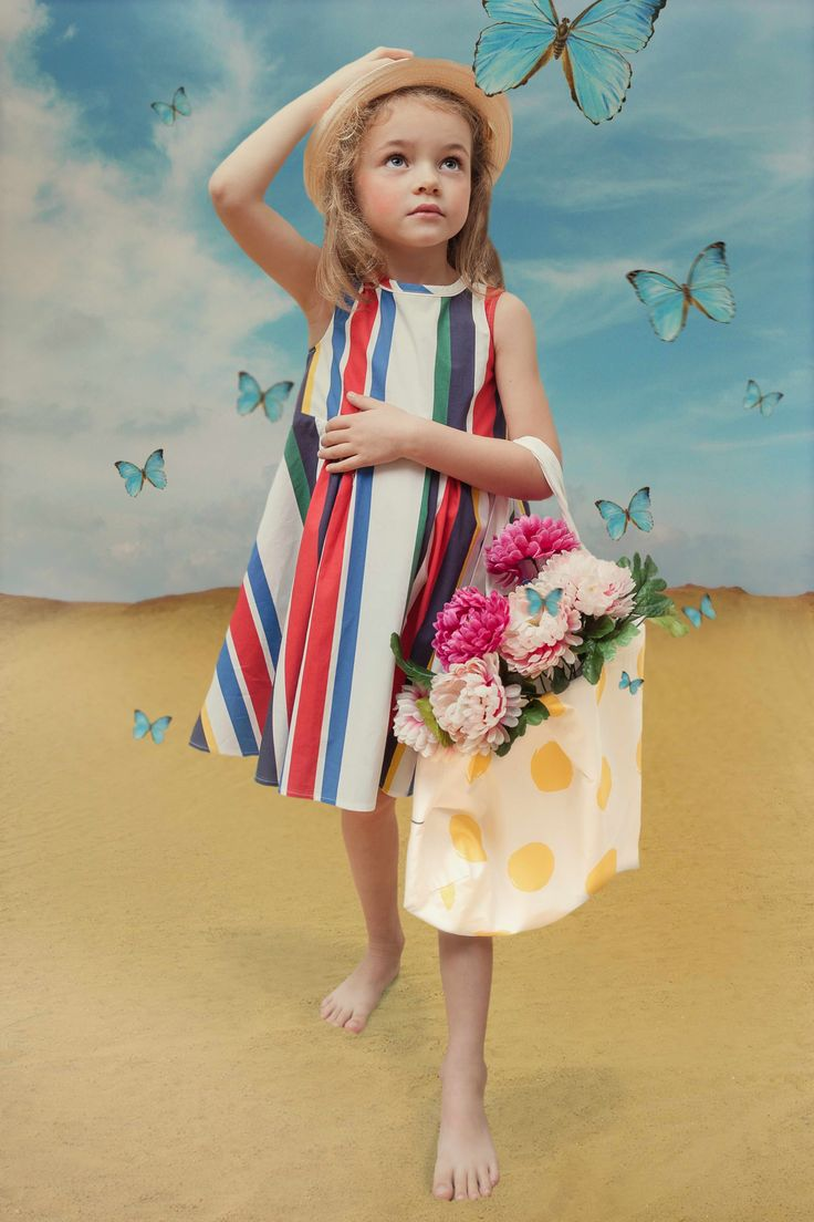 Ladida summer kids fashion for spring 2016 shot by Wanda Kujacz