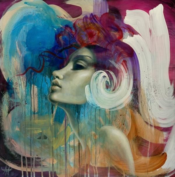 Surreal Portrait Mandy Tsung