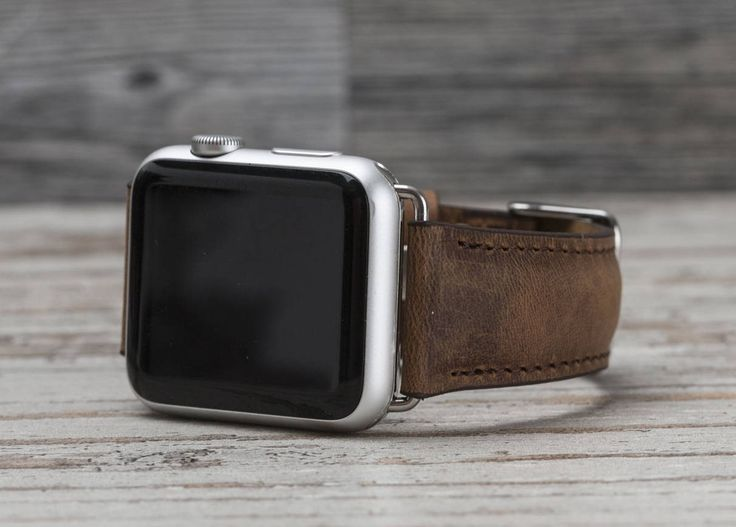 Leather Apple Watch band, 42mm, 38mm, Leather watch band, Apple watch strap, iwatch band, Apple watch leather band, antic brown iwatch strap by o2leather on Etsy