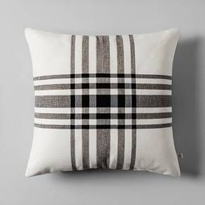 For a classic look with elevated style, complete your decor with the Plaid Throw Pillow from Hearth & Hand™ with Magnolia. This traditional throw pillow delivers a timeless plaid design, making it easy to mix in with existing decor. Whether you let it stand on its own on a leather recliner or pair with pillows of various prints, patterns and sizes to complement an upholstered sectional, you'll love the versatility and comfort this simple accent piece brings.<br><br&g...