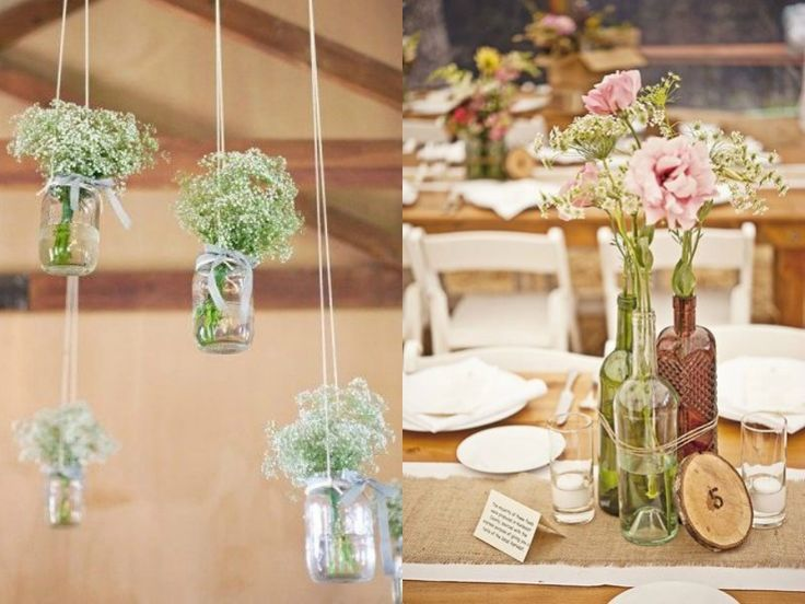Pomysły na ślubne DIY
