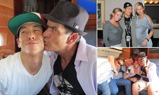 Steve Han, 34, recalls the emotional moment his boss told him about being HIV positive, saying, 'I f***ed up'. Han made sure Charlie Sheen took his three anti-viral pills each morning.