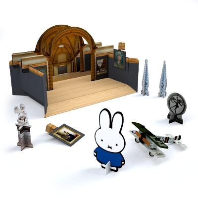 Kids 3D model - Stimulate your kid in a playful way to get to know masterpieces from the Rijksmuseum collection.