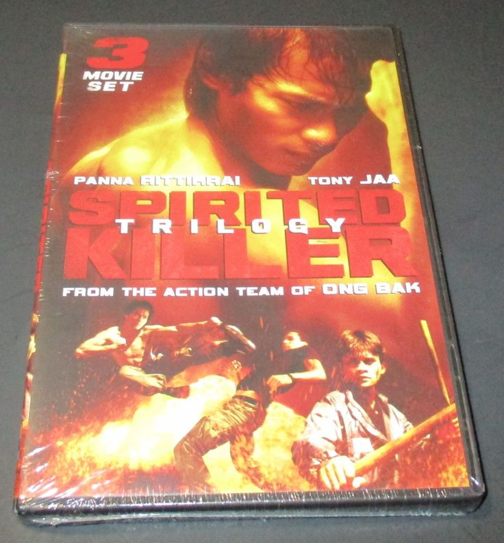 Spirited Killer Trilogy (DVD, 2009) NEW-SEALED Tony Jaa, Martial Arts, Action #SpiritedKiller #TonyJaa #martialarts #action #supernatural #movies http://stores.ebay.com/vinylrockretro/