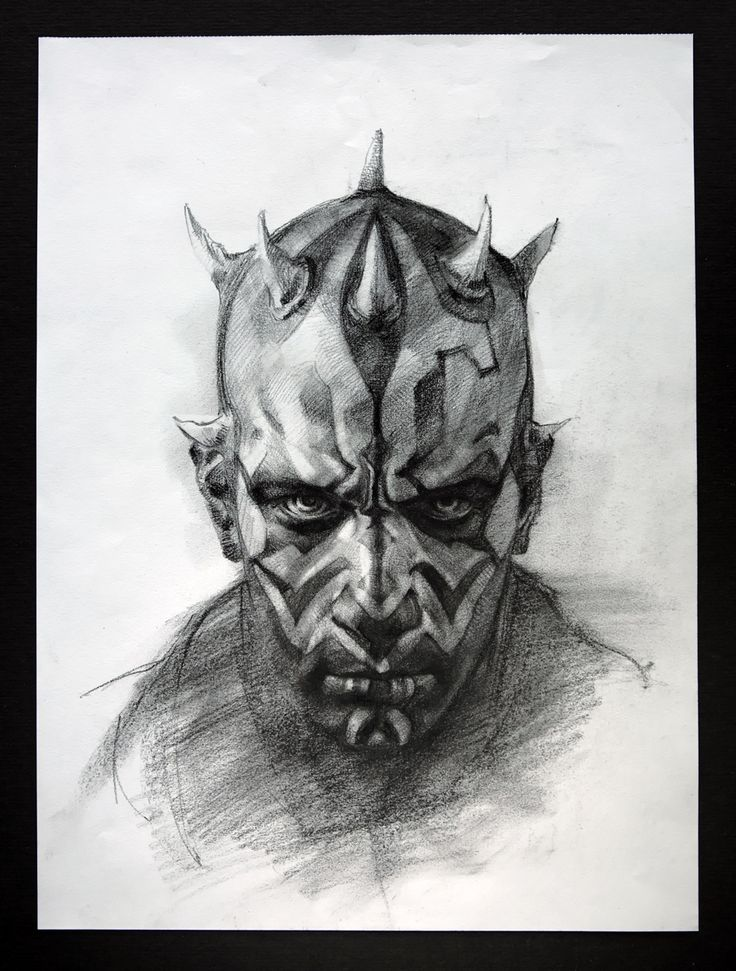 Darth Maul by Elia Bonetti                                                                                                                                                                                 More