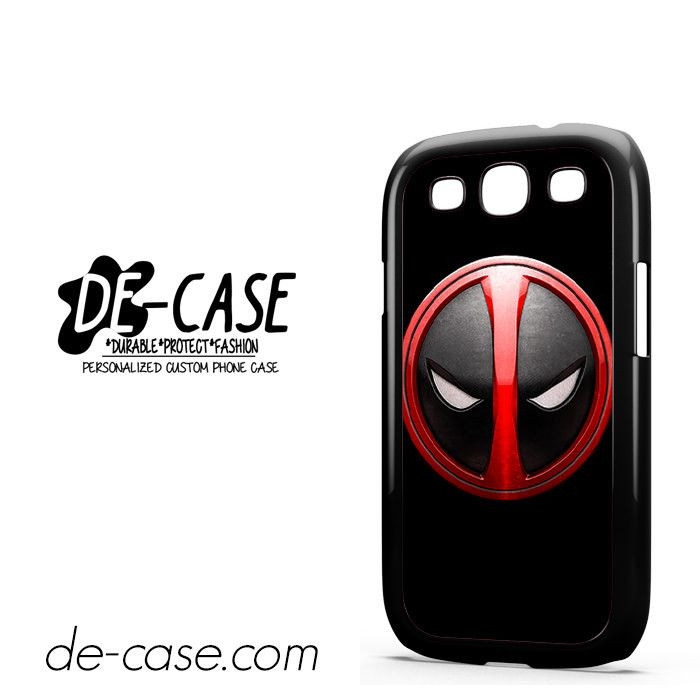 Deadpool Emblem DEAL-3096 Samsung Phonecase Cover For Samsung Galaxy S3 / S3 Mini