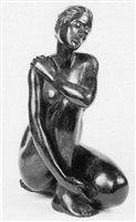 La caresse by Marie-Paule Deville-Chabrolle