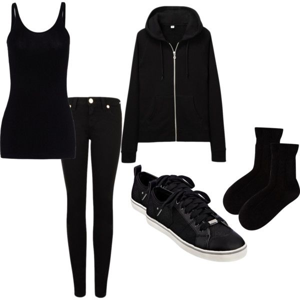 """Not Goth... Just A Backstage Badger"" by m-j-t-99 on Polyvore"
