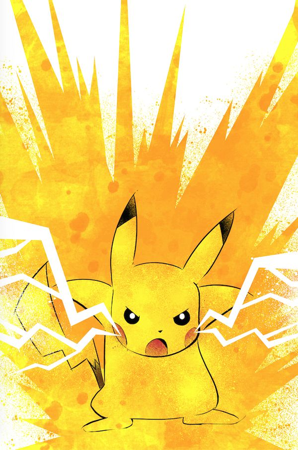Pikachu Fan Art #Pokemon