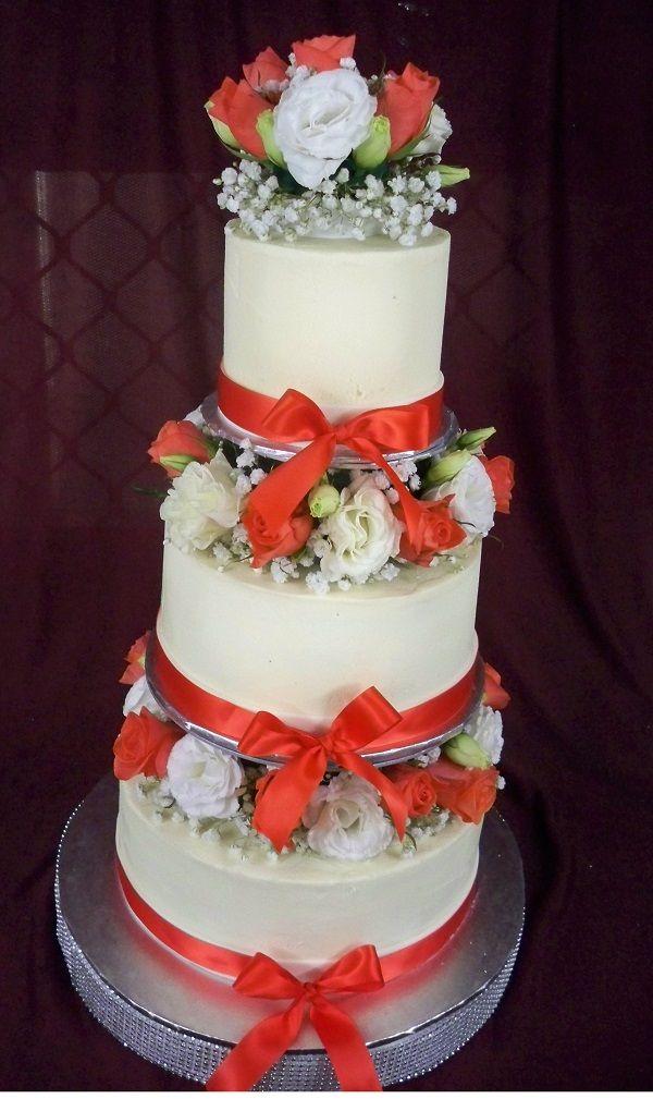 Butter Icing Wedding Cake