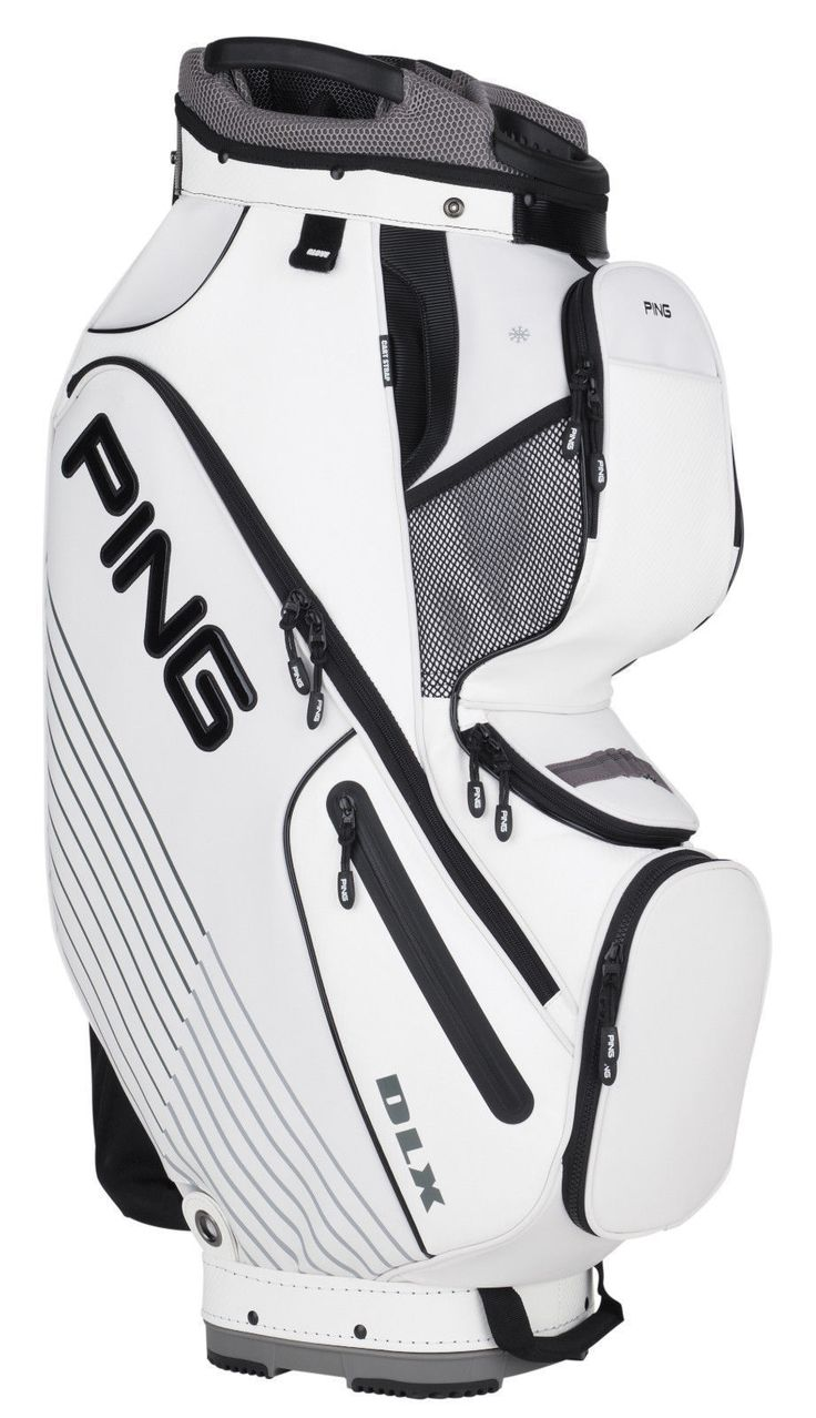 Golf Club Bags 30109: Brand New Ping Golf Dlx Cart Bag Cartbag Black White -> BUY IT NOW ONLY: $194 on eBay!