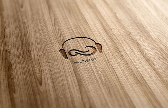Infinite Eco Logo Design by Florin Chitic on Creative Market