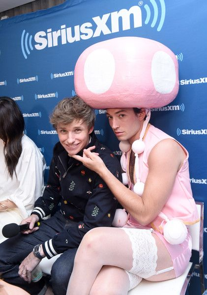 Ezra Miller Photos Photos: SiriusXM's Entertainment Weekly Radio Broadcasts Live From Comic Con in San Diego
