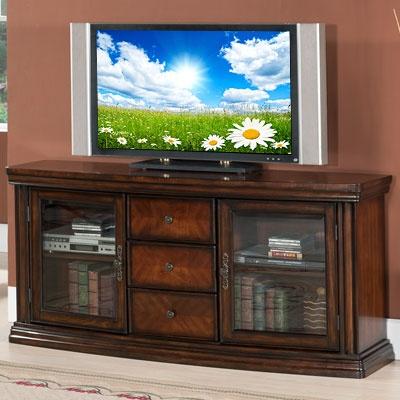60 Quot Ash Burl Parquet Media Tv Stand At Big Lots Local