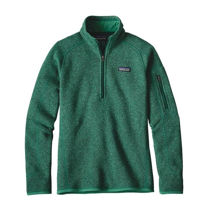 W'S BETTER SWEATER 1/4 ZIP, Impact Green (IMPG)