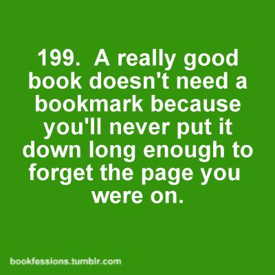 Very true: