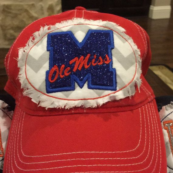 Ole Miss Bling Patch Hat
