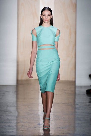Cushnie et Ochs Spring 2013: And Running, 2013 Rtw, Spring2013, Fashion Week, Fashion Trends, New York, 2013 Runway, Spring 2013, Cut Outs