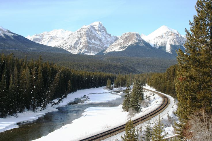 Banff - I waited for a while hoping to see a train, but it didn't happen.