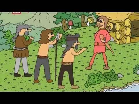 Stare povesti ceske-O Krokovi a jeho dcerách - YouTube
