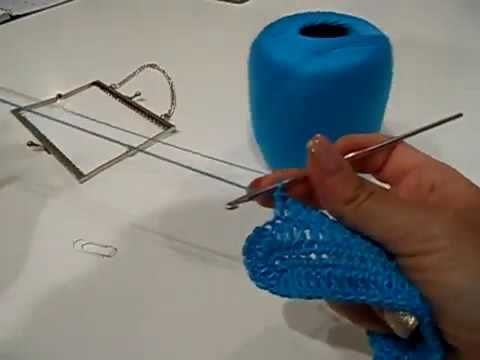 "Tutorial uncinetto ""punto Marine"" | Crochet ""Marine stitch"" || Katy Handmade - YouTube"