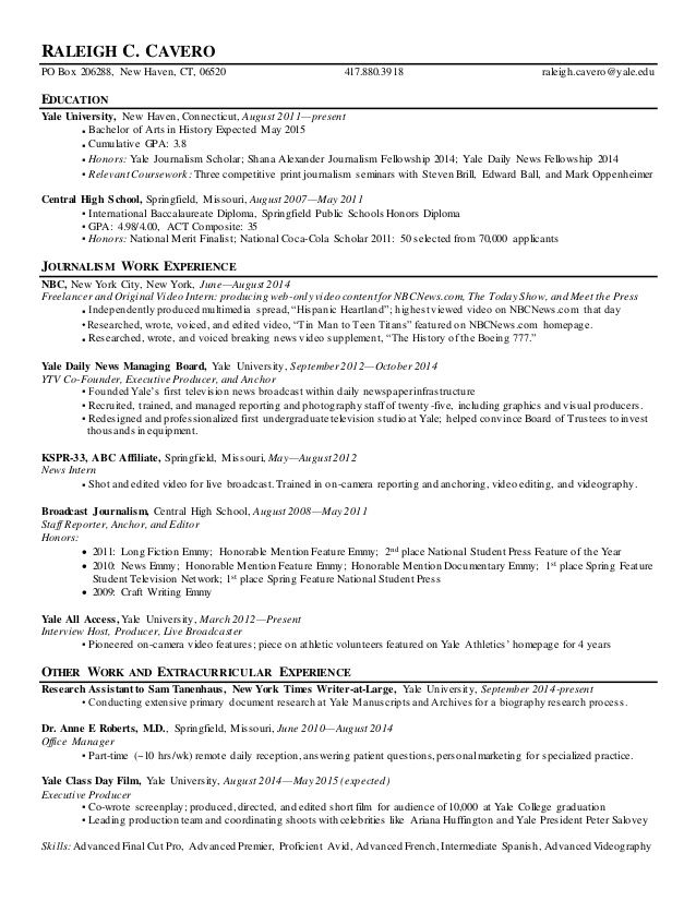 Yale Resume Resume Ideas Best Yale Resume Resume Ideas Yale Sample Resume It Really Is Well Known That Yale Resume In 2020 Student Resume Resume Education Resume