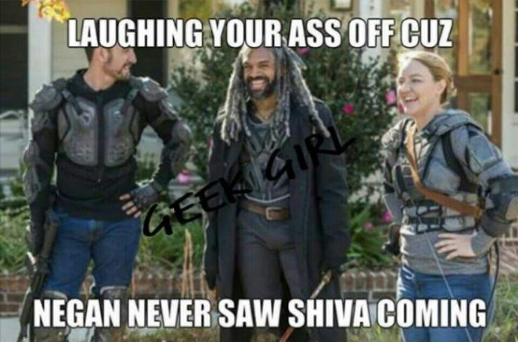 The Walking Dead #twd #shiva
