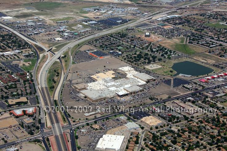 Aerial Image of South Plains Mall, Lubbock, Texas
