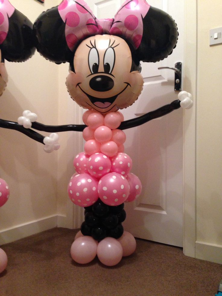84 best images about 1st birthday on pinterest minnie for Balloon decoration minnie mouse