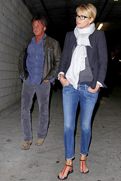 Sean Penn, Charlize Theron Have Movie Date in Hollywood: Picture - Us Weekly