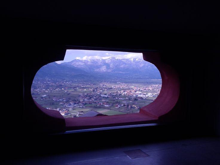 Il Vallo di Diano visto dalla dimora d'epoca Antichi Feudi di Teggiano (SA)