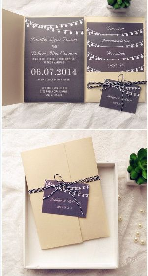 48 best how to make a wedding invitation card images on pinterest Michael Kors Wedding Invitations rustic pocket wedding invitations michael kors wedding invitations