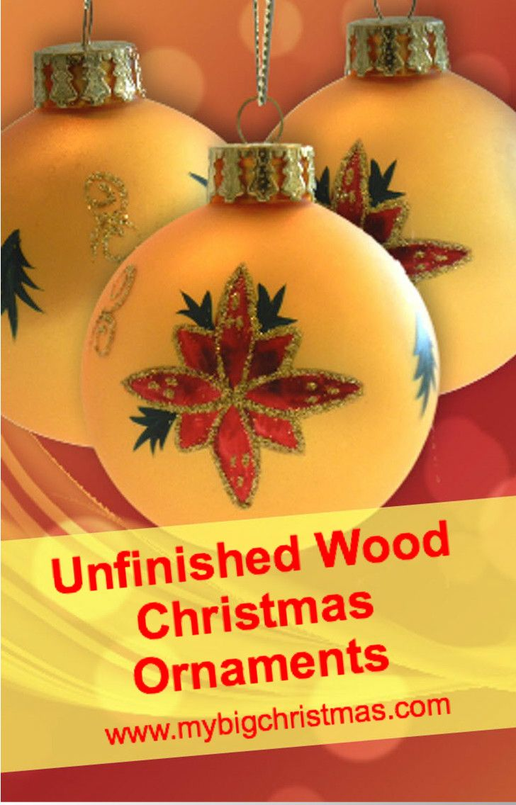 22 best unfinished wood christmas ornaments images on pinterest - Unfinished Wooden Christmas Ornaments