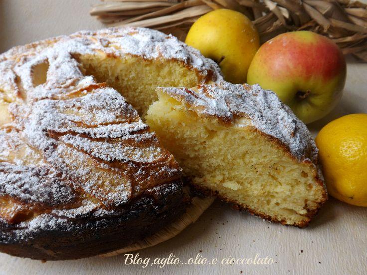 Torta Limone e Mele
