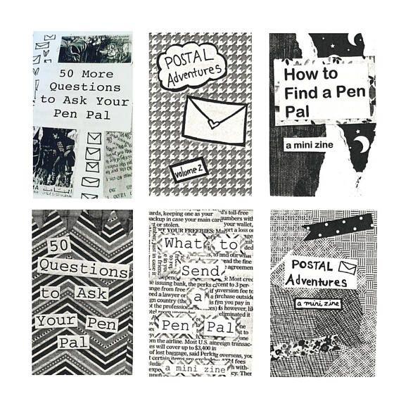 pen pal letter ideas